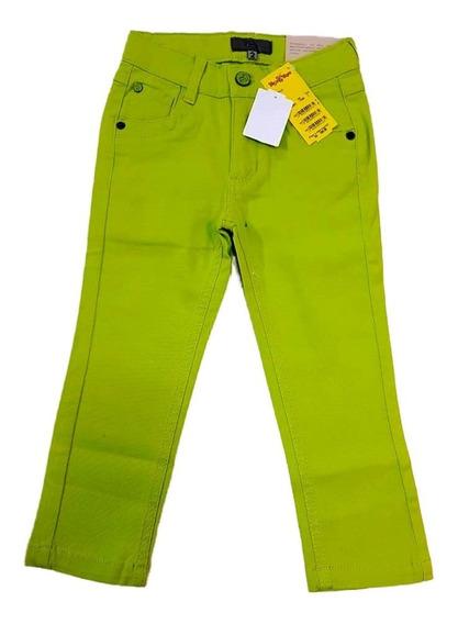 Calça Jeans Amarela Verde Infantil Tigor T. Tigre Original