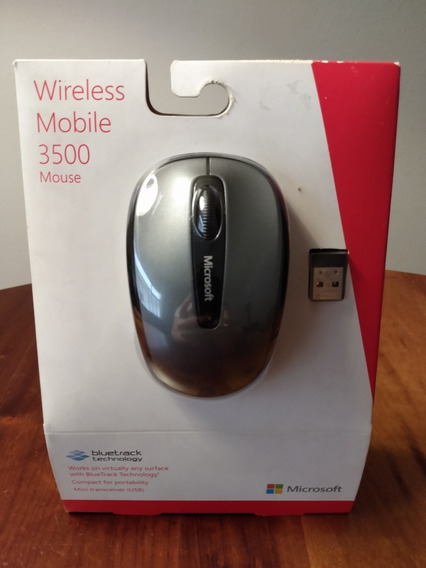 Mouse Sem Fio Microsoft 3500 - Novo - Pronta Entrega