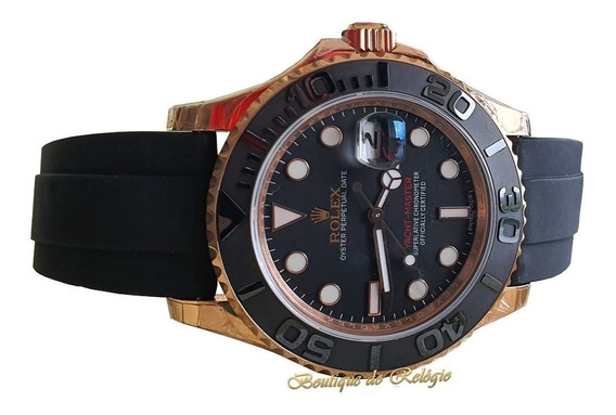 Relógio Eta - Modelo Yacht-master I Gold - Noob