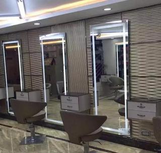 Espejo Salon Belleza Led Vanidad Estéticamaquillaje 65x180cm
