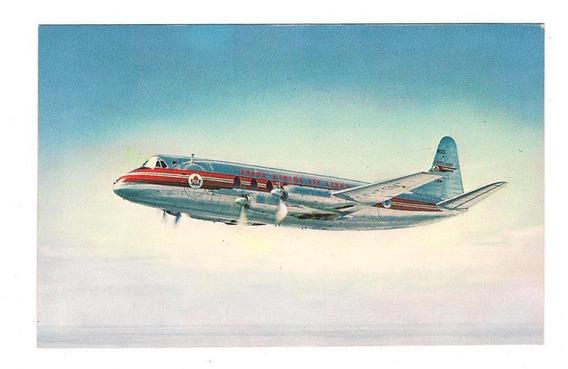 Postal Canada Air Lines Viscount