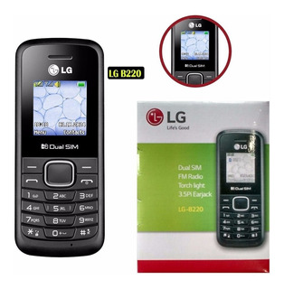 Celular Lg B220 Dual Chip Desbloqueado Original Fm