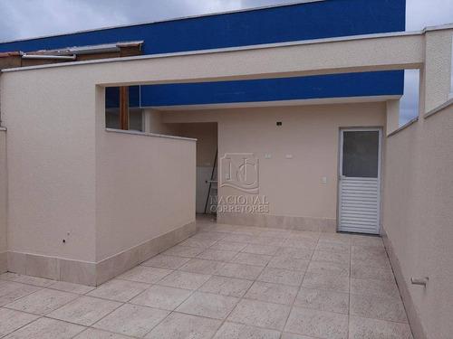 Cobertura À Venda, 90 M² Por R$ 315.000,00 - Vila Floresta - Santo André/sp - Co5295