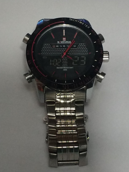 Relógio De Pulso Naviforce Nf 9024 Usado
