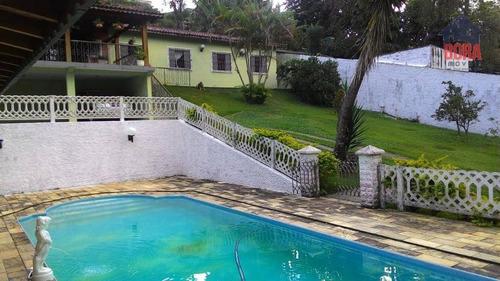 Chácara Com 6 Dormitórios À Venda, 1250 M² Por R$ 900.000 - Parque Votorantin - Mairiporã/sp - Ch0232