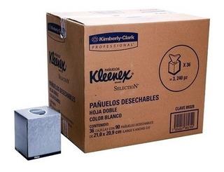 Pañuelo Facial Kleenex [caja De 36 Paquetes 90 Hojas Dobles]