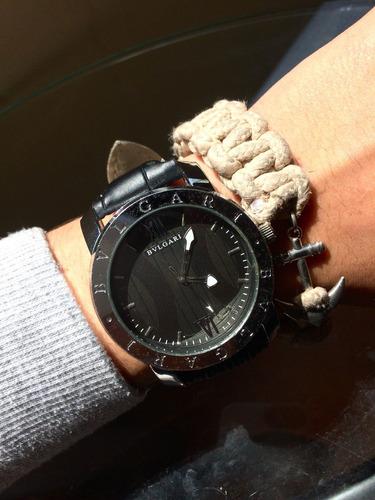 Imagen 1 de 2 de Reloj Bvlgari Negro