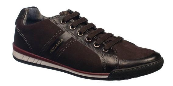 Sapatênis Pegada Sapato Masculino 116903 Conforto 16903