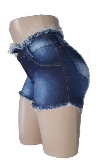 04 Shorts Jeans Femininos No Atacado