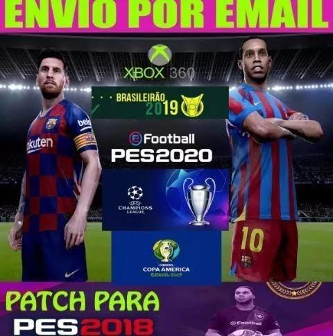 Novo Patch Pes 2020 Para Pes 2018 Xbox 360