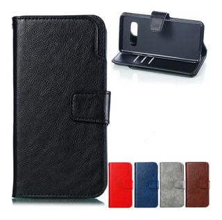 Funda Flip Cover Tarjetero Para Samsung S10 S10 Plus S10e