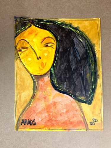 Lamina De Arte- Ilustración Original Firmada