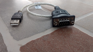 Cable Manhattan Convertidor Usb A Serial Db9 Macho