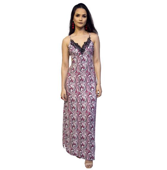Vestido Longo Costa Nua - Para Mulher Baixinha