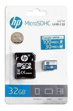 Cartao De Memoria Class10 Micro Sdhc 32 Gb C/adaptador Hfud0
