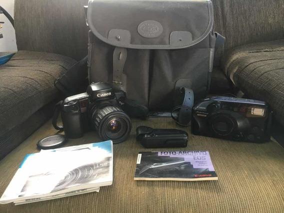 Máquina Canon Eos 100 E Autoboy Analógica Sony