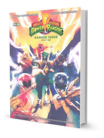 Hq Power Rangers Ranger Verde Ano Um Capa Dura Pixel Lacrad