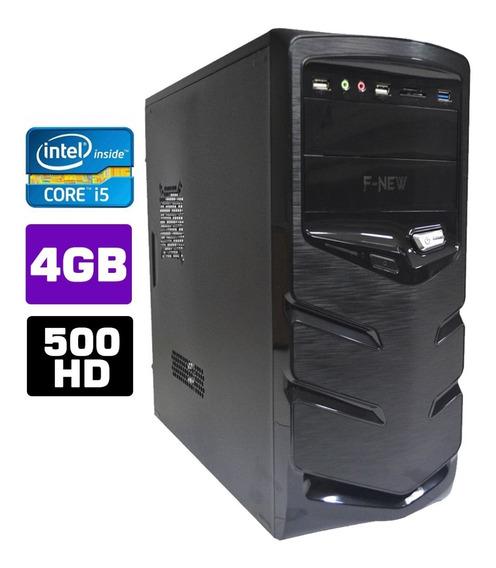 Computador Cpu Intel Core I5 4gb Hd 500 Wifi