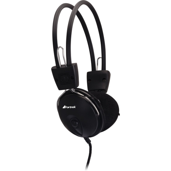 Fone De Ouvido Multimídia Headset Hs312 Preto - Fortrek