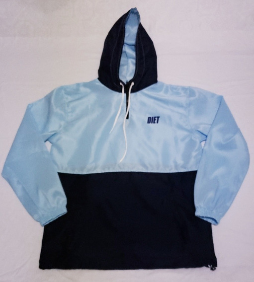 Jaqueta Corta Vento Diet Skateboard Anorak Blue Winter 2019