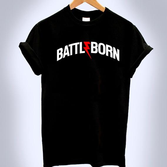 Playera Battle Born Moda Unisex