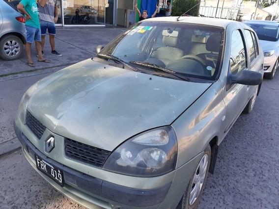 Renault Clio 1.6 Athent. Aa Gnc 2005