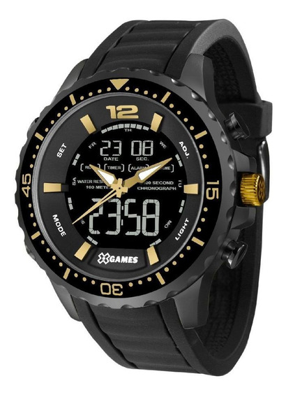 Relógio Xgames Xmnpa003-pxpx - Preto