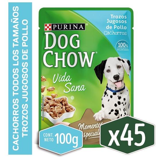 Pack Dog Chow® Cachorro Pollo 100g