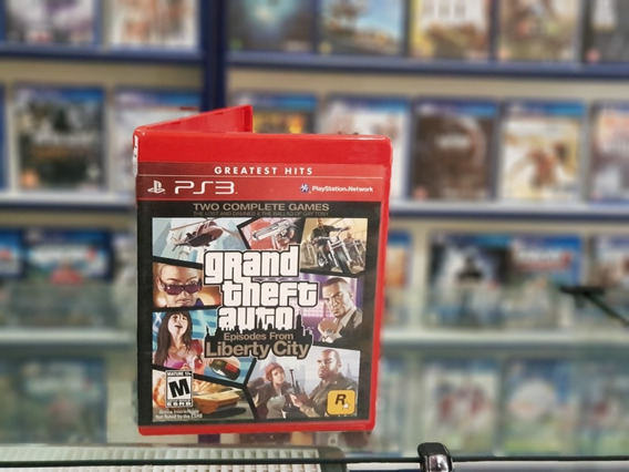 Gran Theft Auto Liberty City Usado Manuais Ps3 Mídia Física