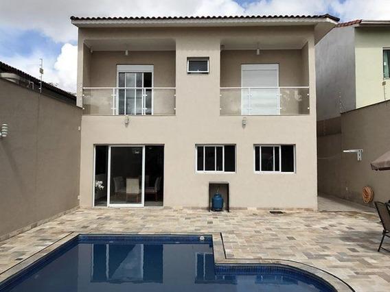 Casa Sobrado Residencial Alto Padrão À Venda, Rua Capistrano De Abreu, Vila Suissa, Mogi Das Cruzes - Ca0871. - Ca0871