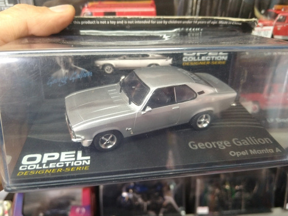 Miniatura Da Opel Collection Manta A George Gallion