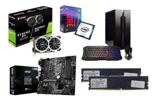 Imagen 1 de 10 de Pc Full Gamer Armada Intel Core I7 16gb 256ssd Gtx 1650 D6