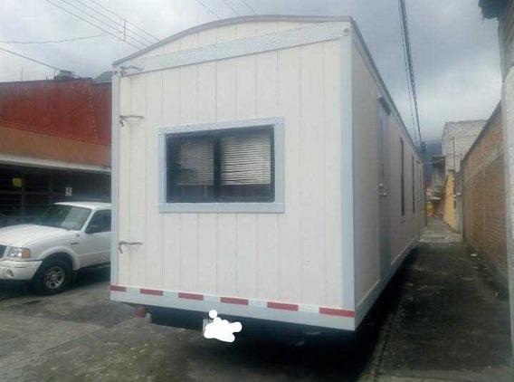 Caseta Camper Remolque Oficina Movil 8x44 Pies Wc Y Privados
