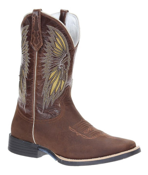 Bota West Country Masculina Marrom Western 20026