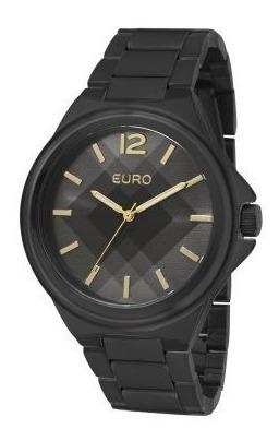 Relógio Facetado Euro Original Eu2035ydp-4p Na Caixa Lacrado
