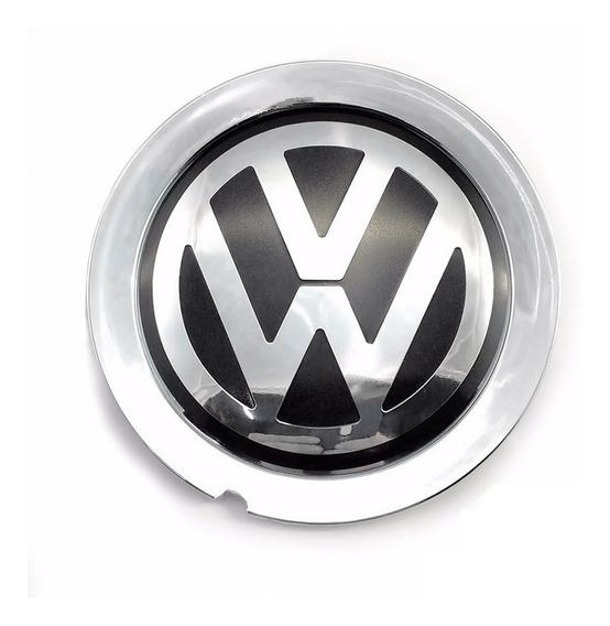 Calota Centro Miolo Roda Scorro S172 S181 Volkswagen Cromo