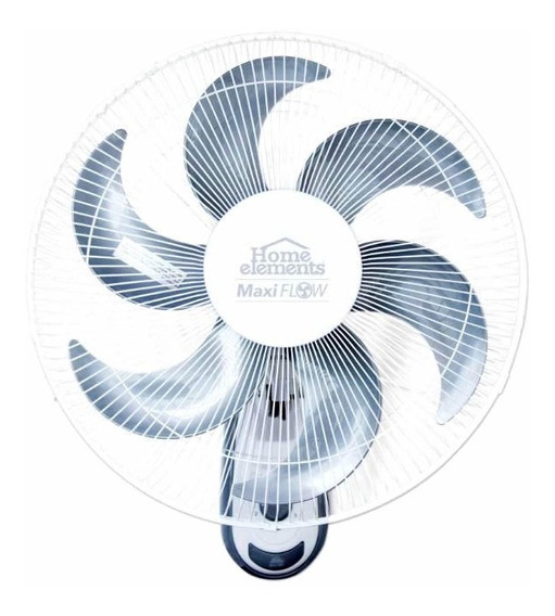 Ventilador De Pared Home Elements Maxi Flow 6 Aspas Hemfw18b