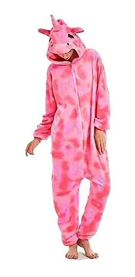 Pijama Kigurumi Unicornio Mameluco Disfraz Niños Y Adultos
