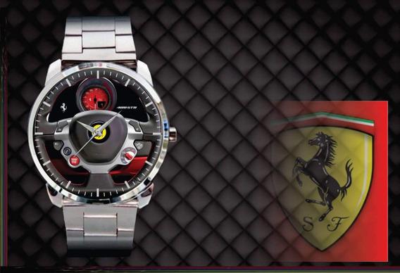 Kit 2 Relógios De Pulso Personalizados Mercedes A250 Ferrari