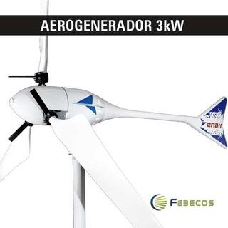Aerogenerador Eolico 3kw - Enair By Febecos
