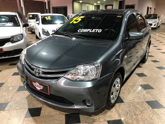 Toyota Etios 1.5 Xs Sedan 16v Flex 4p Manual 2015 2015