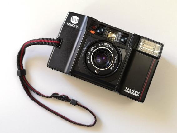 Camera Analogica Minolta Talker Af-sv. Filme, Rara. Filme 35