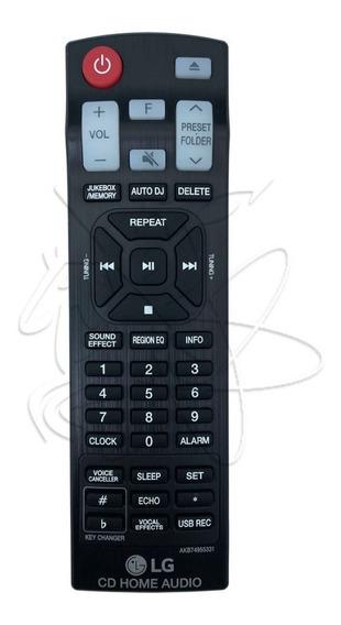Controle Mini System Lg Akb74955331 Cm9060 Cjs45w Cj65 Cj45