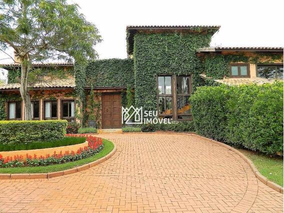 Casa Com 6 Dormitórios À Venda, 1400 M² Por R$ 7.900.000,00 - Fazenda Vila Real De Itu - Itu/sp - Ca1477
