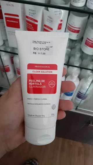 Adcos Esfoliante Peeling De Hortelã Clean Solution 150g