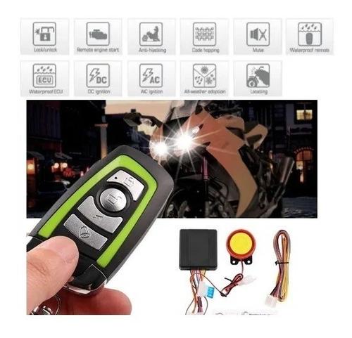 Imagen 1 de 6 de Alarma Moto - Encendido A Distancia - Bateria De Respaldo