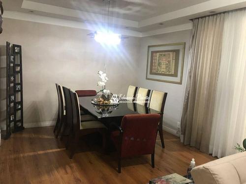 Imagem 1 de 30 de Apartamento Com 3 Dormitórios À Venda, 129 M² Por R$ 990.000,00 - Centro - Guarulhos/sp - Ap0438