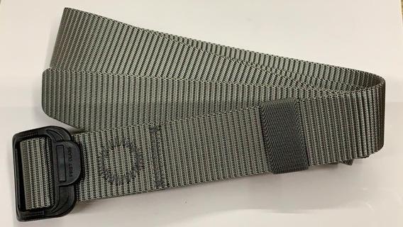 Cinturon Táctico Hebilla De Polimero Ajustable Nylon 600 Gri