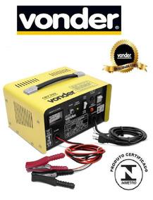 Carregador Bateria Rápido E Lento 12v Vonder P/carros E Moto