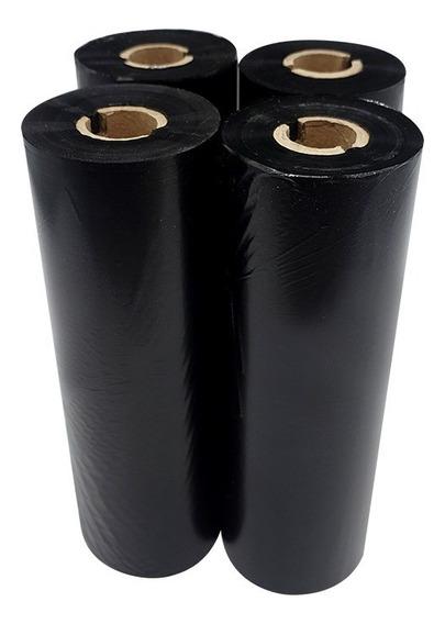 Ribbon De Cera 110x91 - Argox/elgin/cashway - Caixa C/ 24